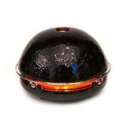 candle stove black design