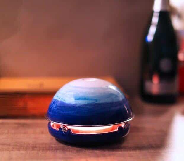 ルームヒーターブルーカラー