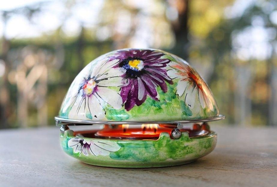 flower artwork painting