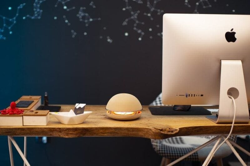 pottery desk decor